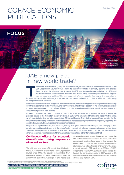 UAE: a new place in new world trade?