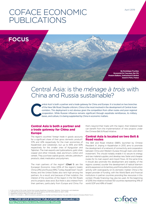 Central Asia: is the ménage à trois with China and Russia sustainable?