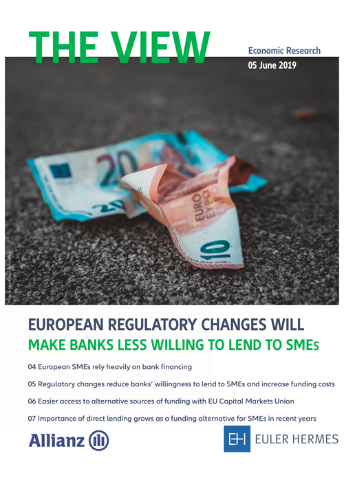 European regulatory changes will make banks less willing to lend to SMEs