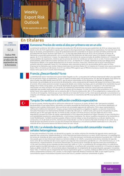 Weekly Export Outlook ES
