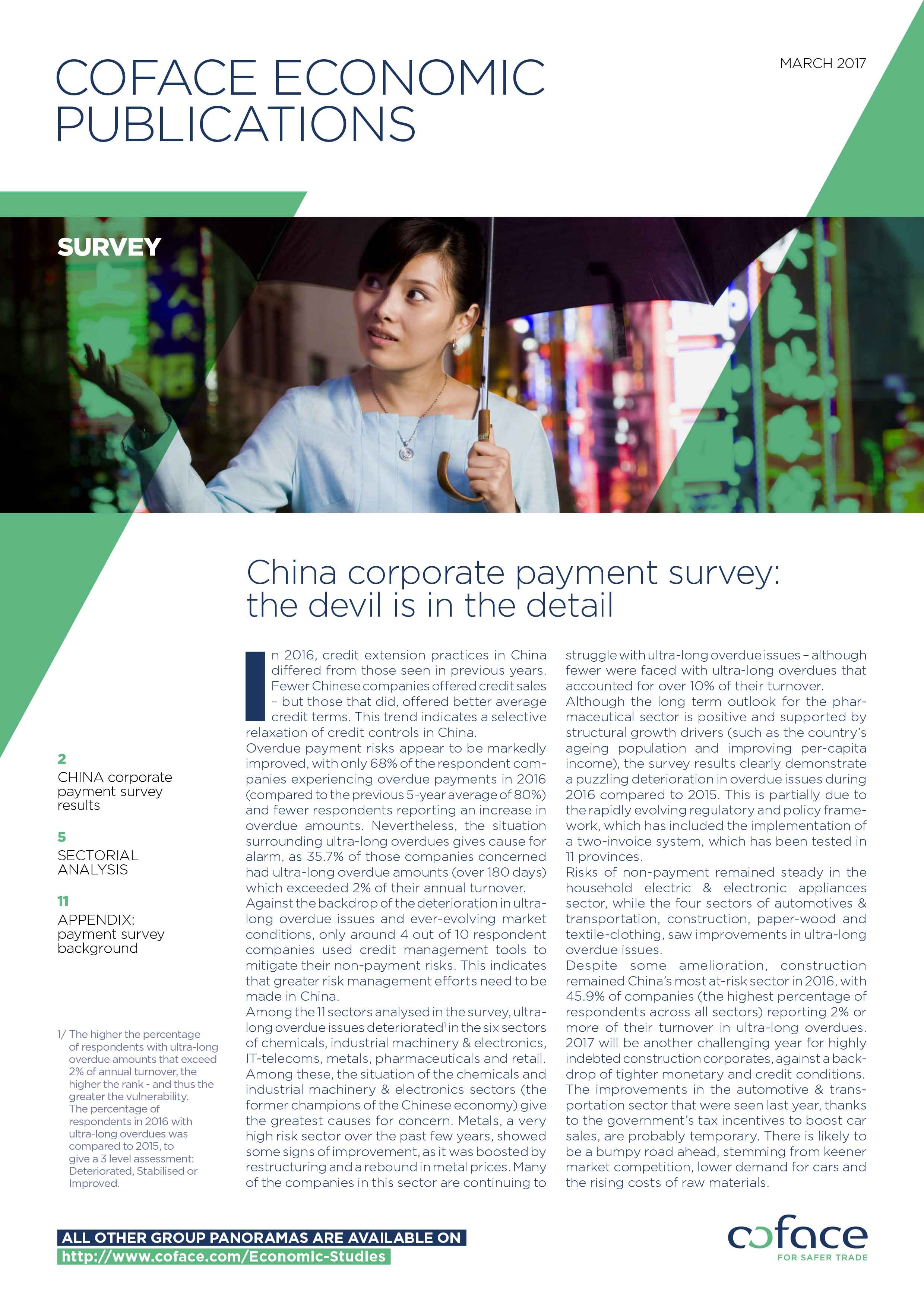 China corporate payment survey: the devil is in the detail