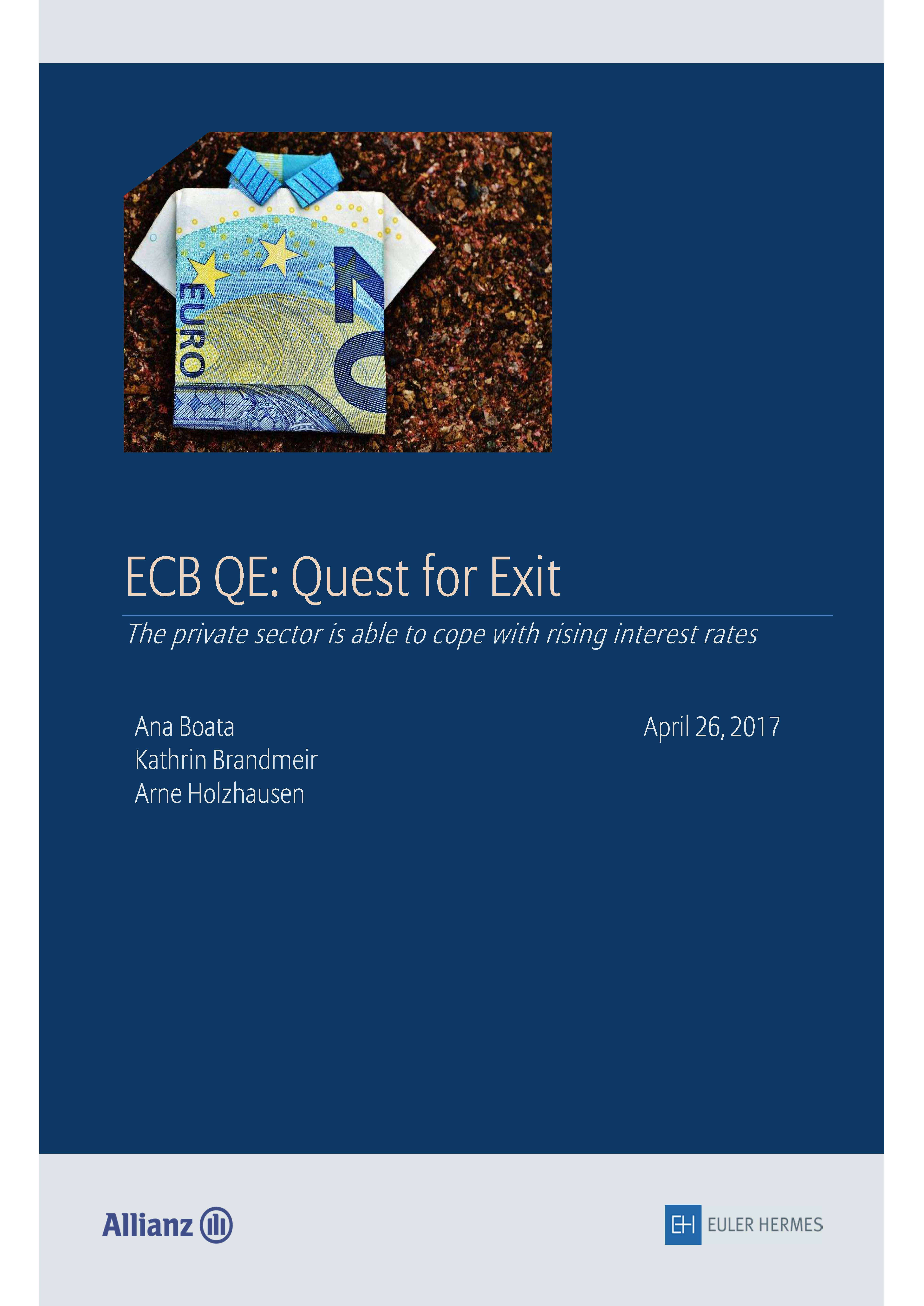 ECB QE: Quest for Exit