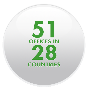 Pastille 51 Offices in 28 Countries