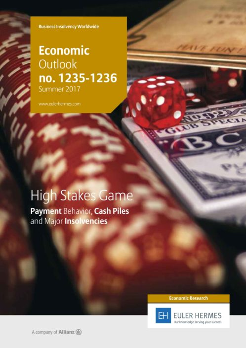 High Stakes Game - Payment Behavior, Cash Piles and Major Insolvencies