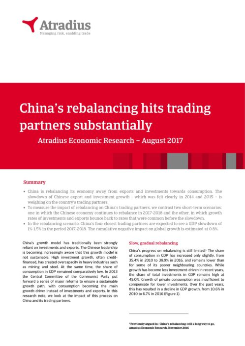 China's rebalancing hits trading partners substantially