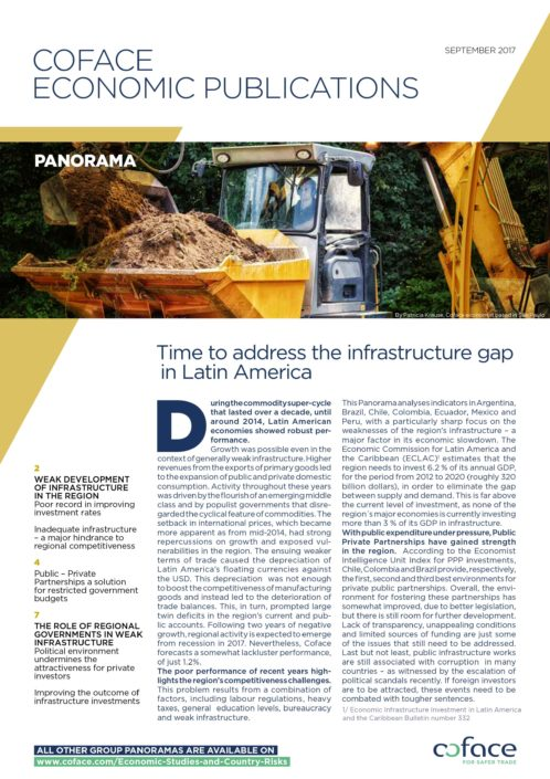 Time to address the infrastructure gap in Latin America