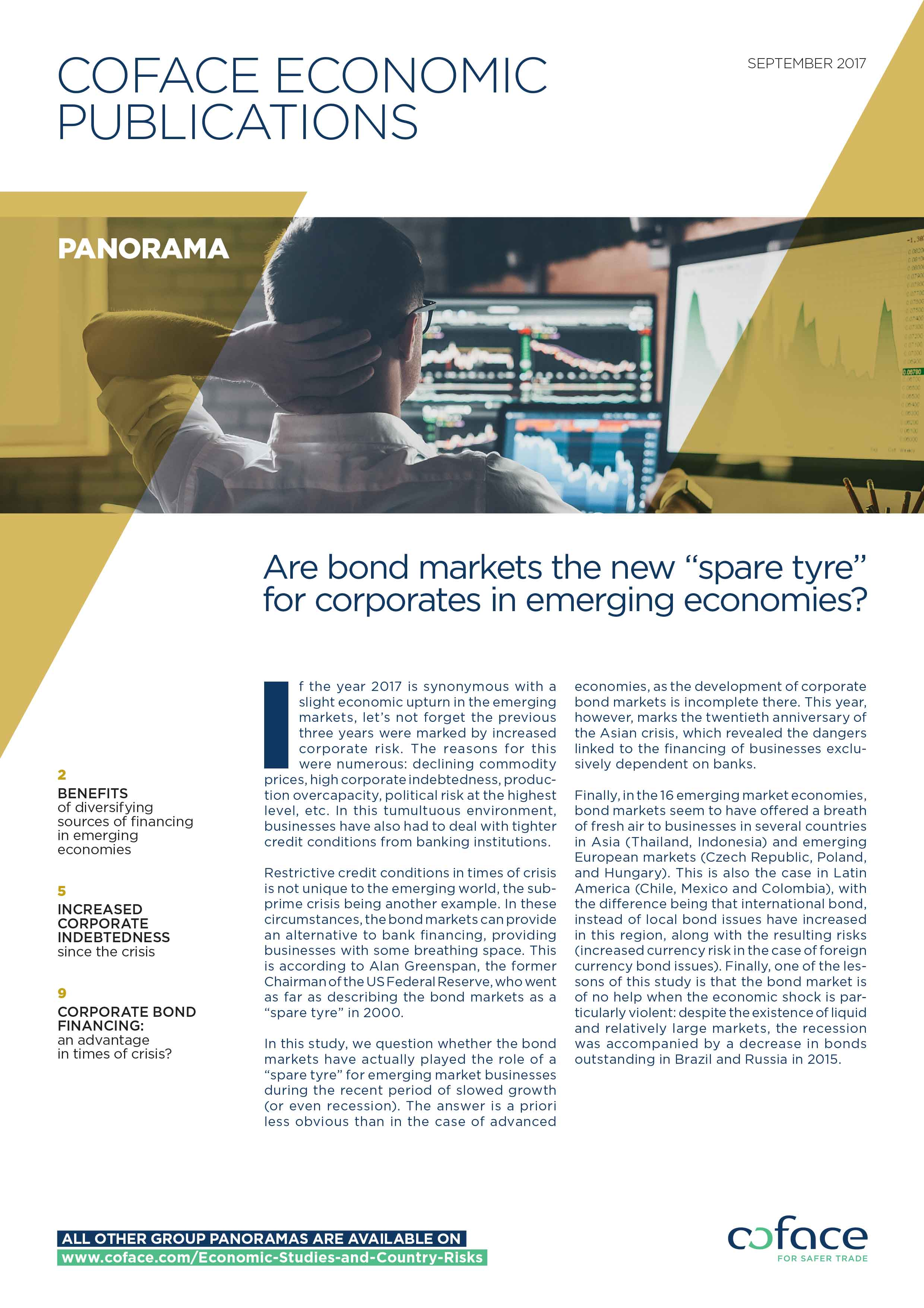 """Are bond markets the new """"spare tyre"""" for corporates in emerging economies?"""