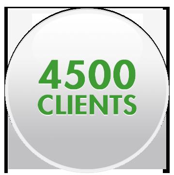 4500 clients