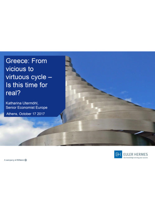 Greece: From vicious to virtuous cycle - is this time for real?