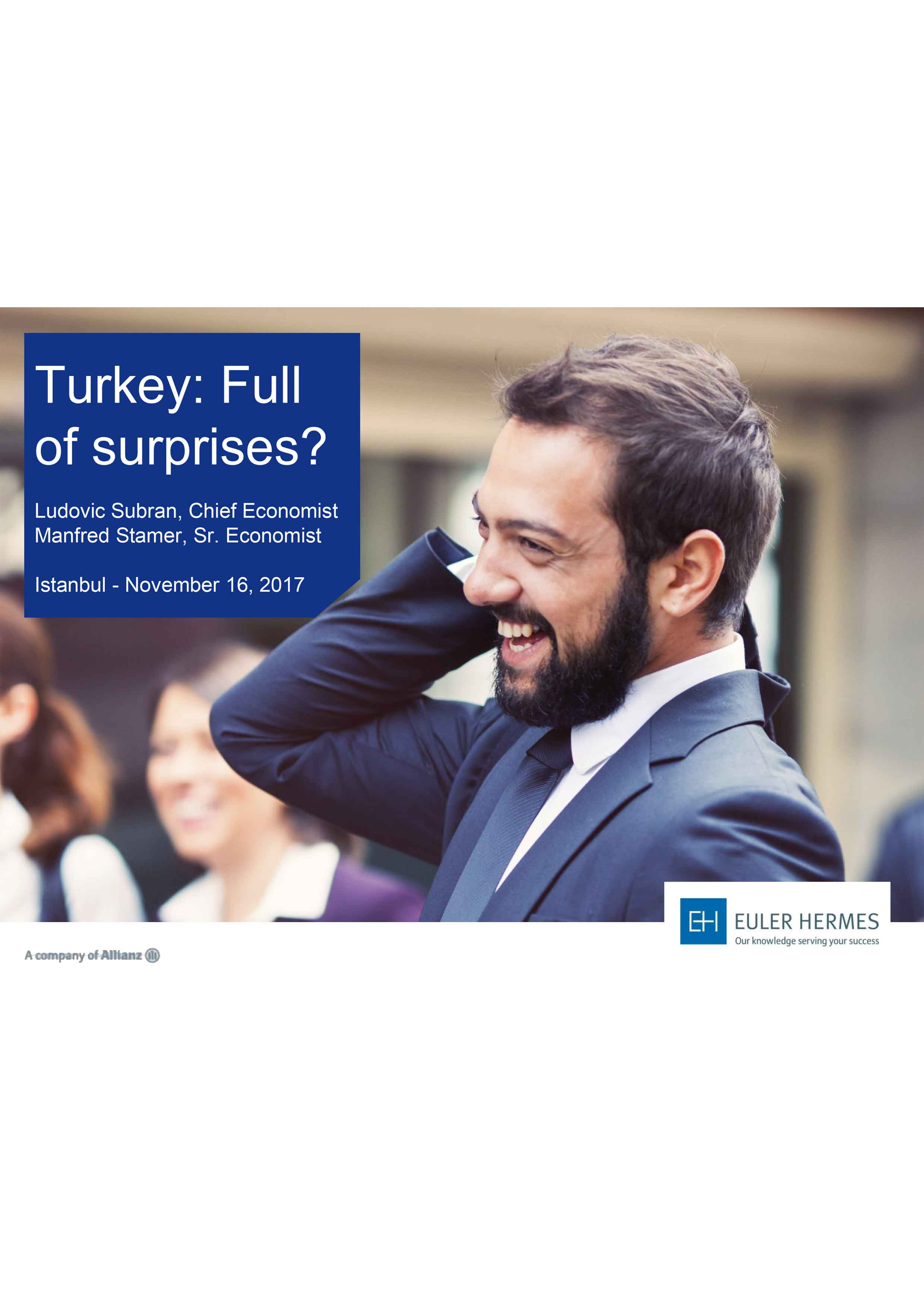 Turkey: full of surprises?