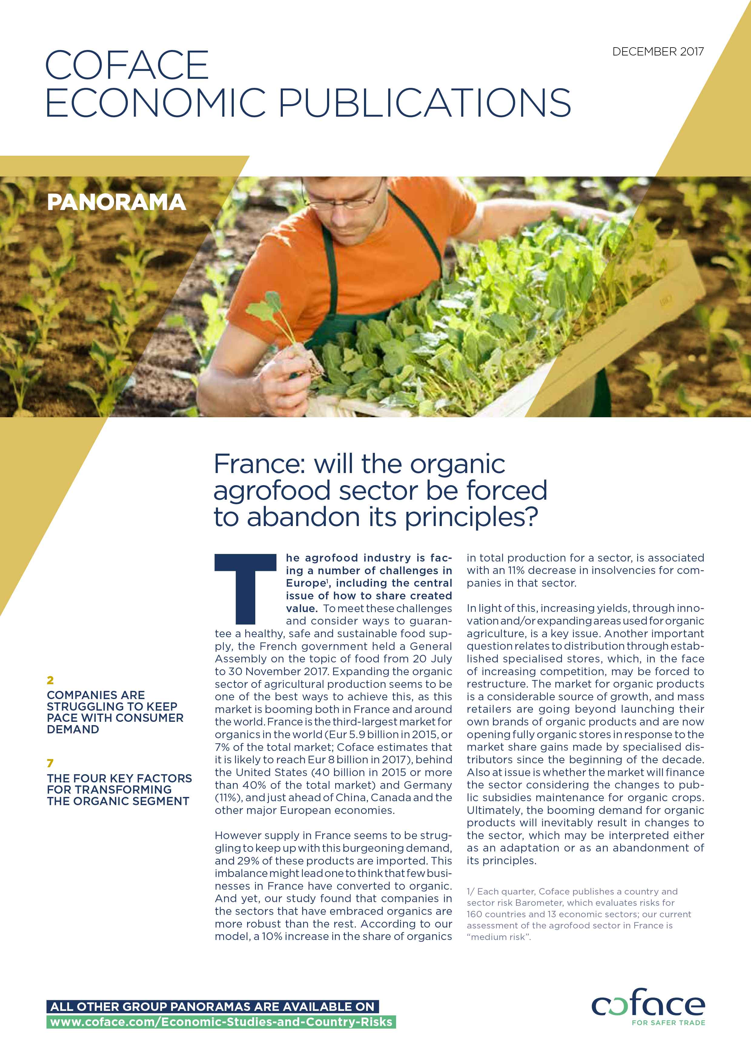 France: will the organic agrofood sector be forced to abandon its principles?