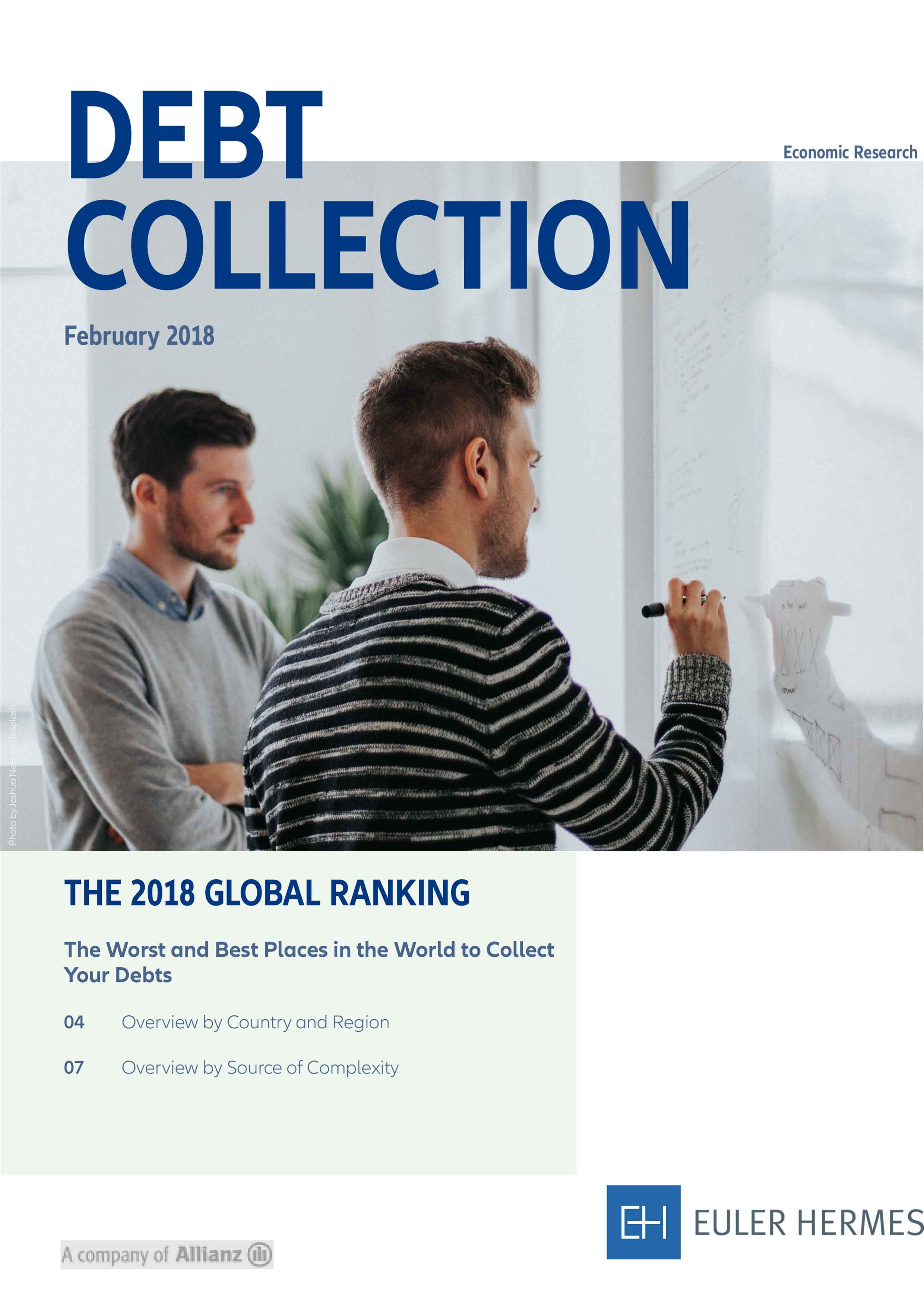 Debt Collection - The 2018 Global Ranking
