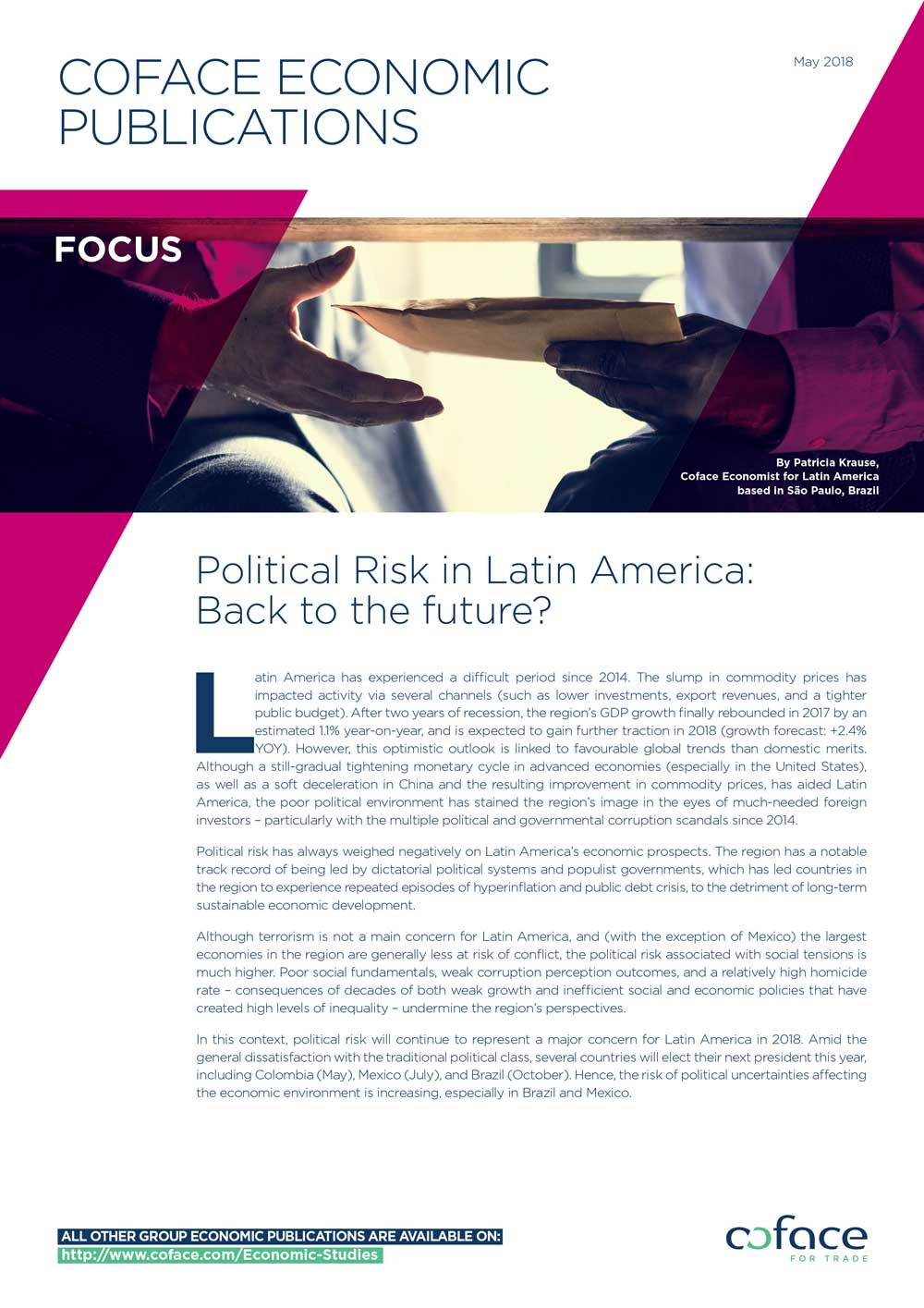 Political Risk in Latin America: Back to the future?