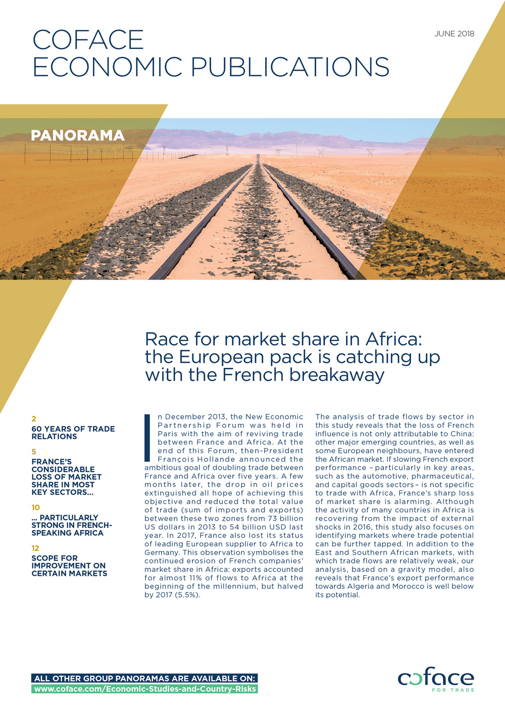 Race for market share in Africa