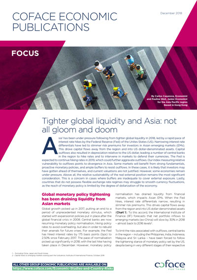 Tighter global liquidity and Asia: not all gloom and doom
