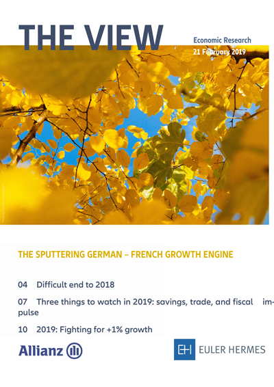 The sputtering German - French growth engine