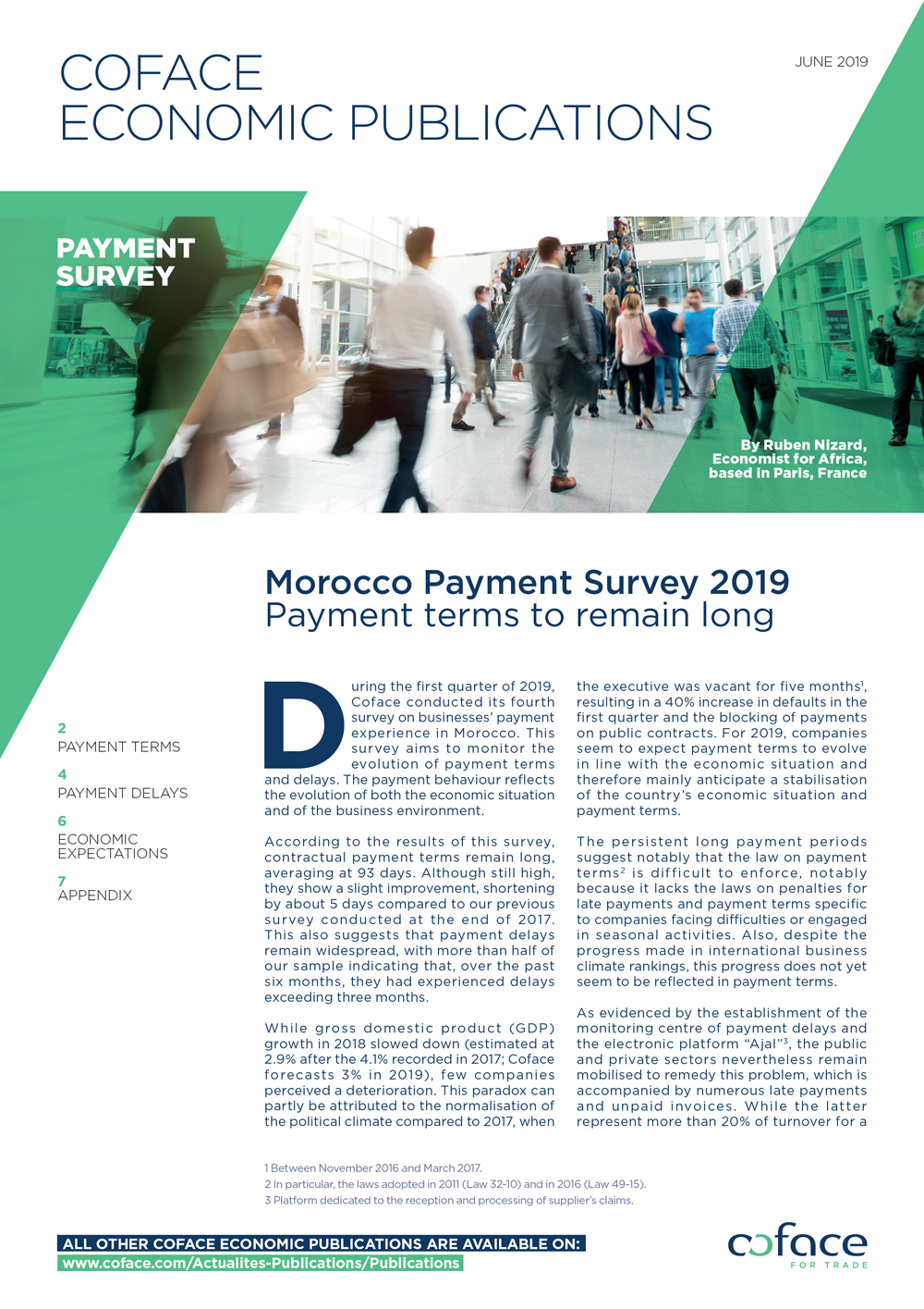 Morocco Payment Survey 2019: payment terms to remain long