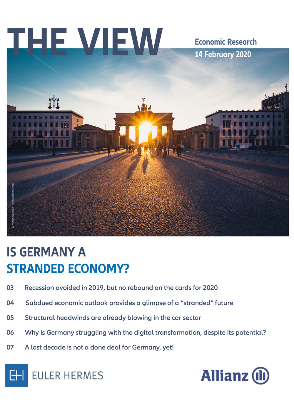 """Is Germany a """"stranded"""" economy?"""