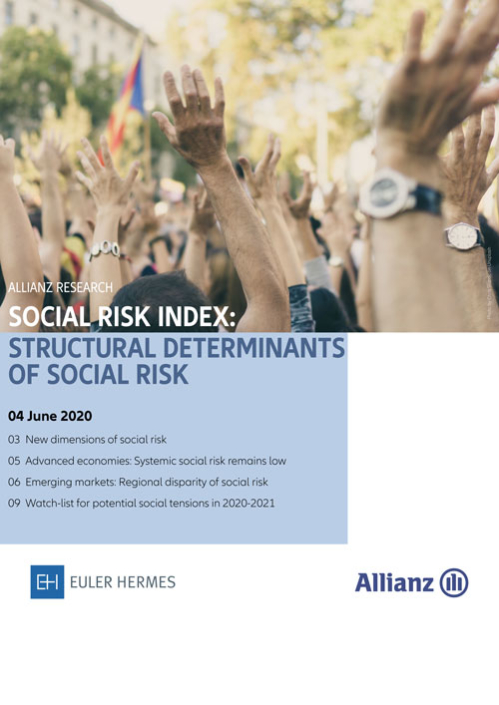 Social Risk Index: Structural determinants of social risk