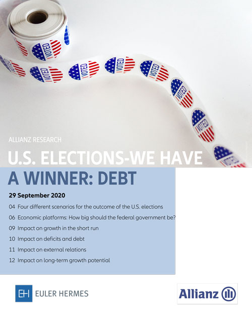 U.S. elections - we have a winner: debt