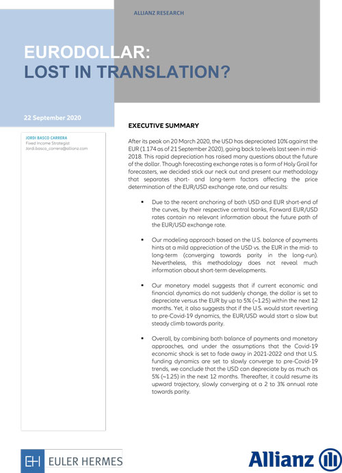 Eurodollar: lost in translation?